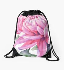 Chrysanthemum Drawstring Bag