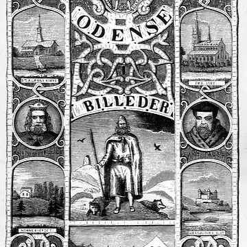 Odense, Denmark Collage 1800s by ExpressingSelf