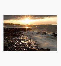 Sunset Flare Photographic Print
