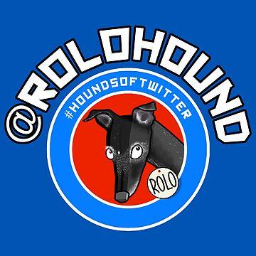Rolohound (sticker only) by jameshardy