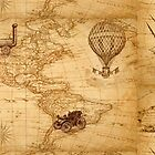 World Map For Traveler   by mimio2009