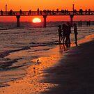 Dock Sunset by Rosalie Scanlon