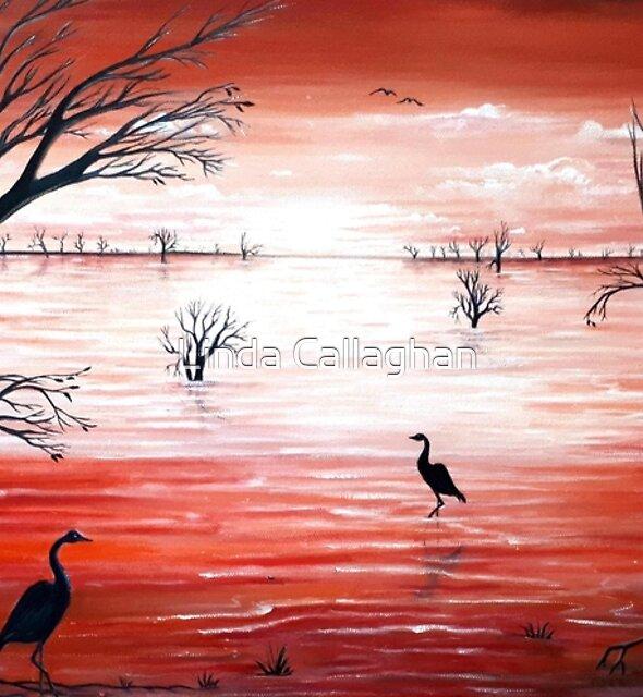 Crimson Skies by Linda Callaghan