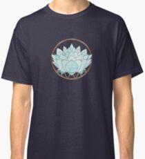 Blue Succulent Classic T-Shirt