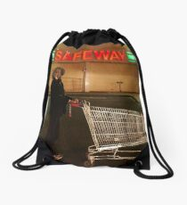 Keen shopper Drawstring Bag