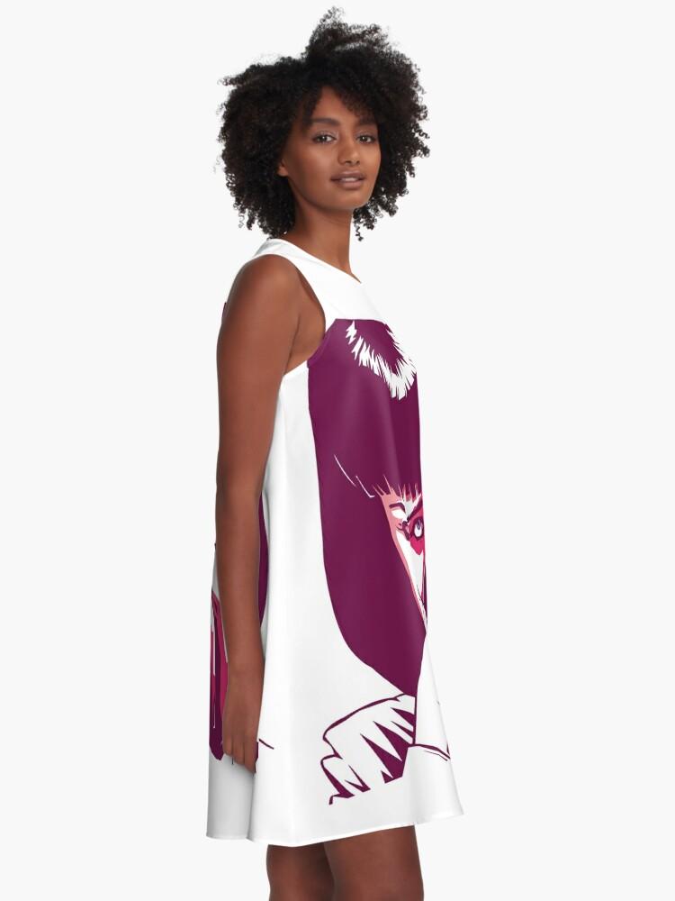 Alternative Ansicht von Mia Wallace A-Linien Kleid