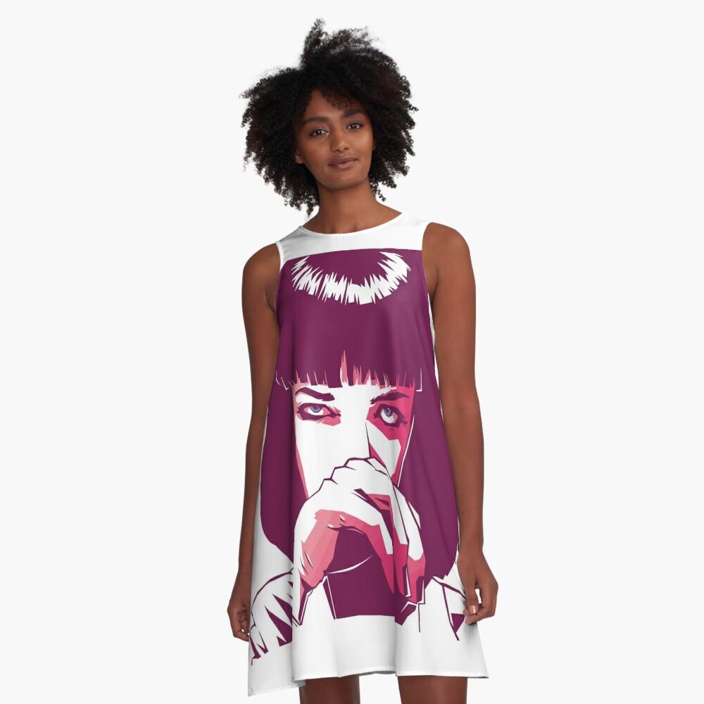 Mia Wallace A-Linien Kleid