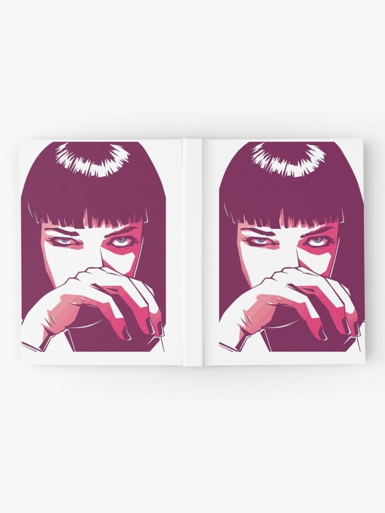 Alternative Ansicht von Mia Wallace Notizbuch