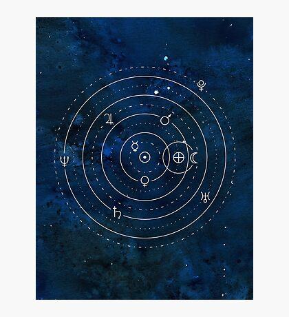 Symboles Planètes Impression photo