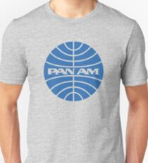 PAN AM Airlines Slim Fit T-Shirt
