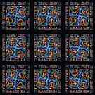 Stained Glass Window Tiles by Ray Warren