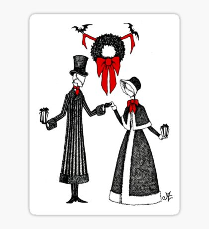 Holiday Romance Sticker