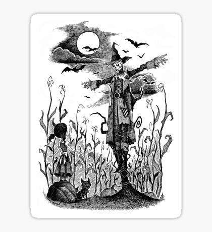The Scarecrow of Oz Sticker