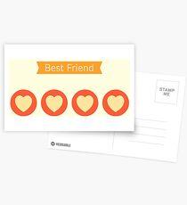 Pokemon Go Best Friend Postcards