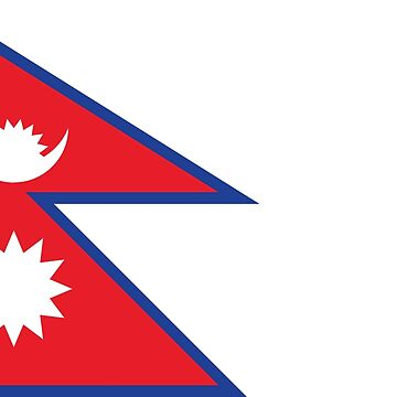 Nepal National Flag by ashikshrestha