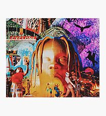 Astroworld fan-art cover Photographic Print