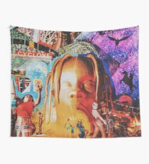 Astroworld fan-art cover Wall Tapestry
