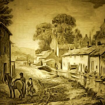 A 19th century view of Derbyshire, England by ZipaC