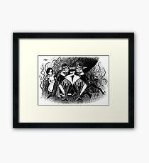 Tweedledum and eedeldeewT Framed Print