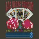 Evil Clown T Shirt Las Vegas Royal Flush by bear77
