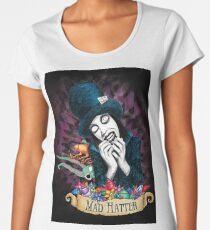 Mad Hatter Women's Premium T-Shirt
