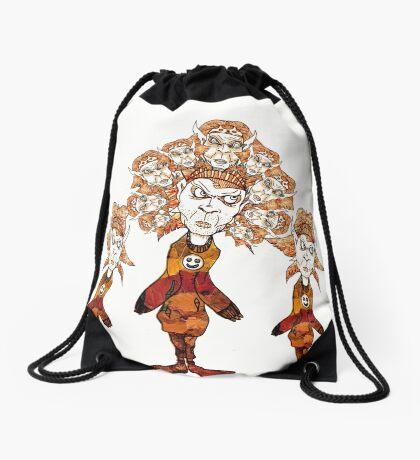 Cartoon figures 2011 Drawstring Bag