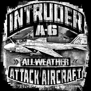 A-6 Intruder by deathdagger
