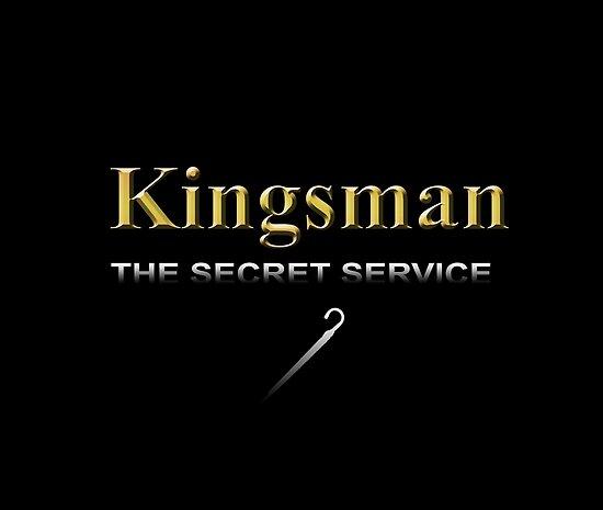 Kingsman Title Gold Umbrella  by hisame