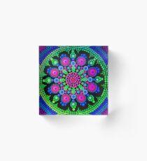 Little Dot Mandala - Art&Deco By Natasha Acrylic Block