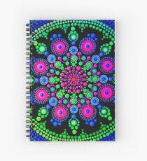 Little Dot Mandala - Art&Deco By Natasha Spiral Notebook