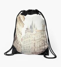 prague Drawstring Bag