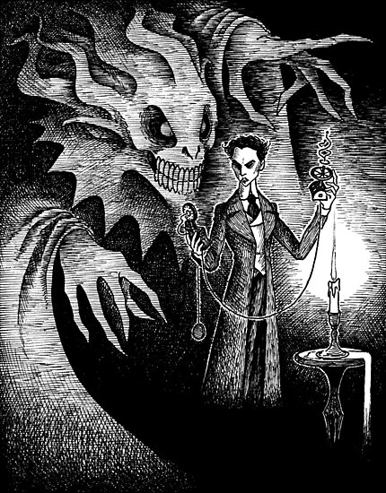 The Manifestation of Thomas Carnacki by JELarson