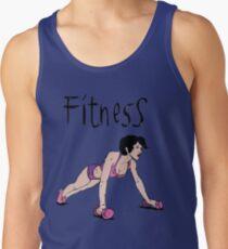 Fitness girl Tank Top