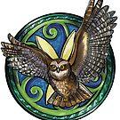Ruru (Owl) by Rebecca Gibbs