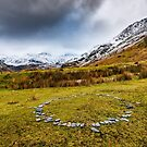 Stone Circle Snowdonia by Adrian Evans