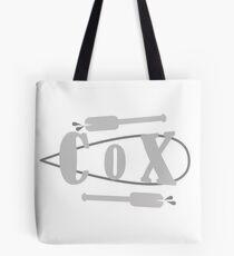 Cox Board Oars Tote Bag