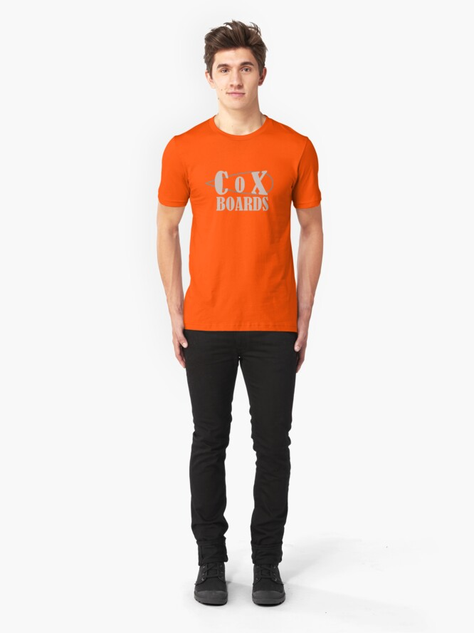 Alternate view of Cox Boards Slim Fit T-Shirt