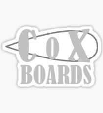 Cox Boards Sticker