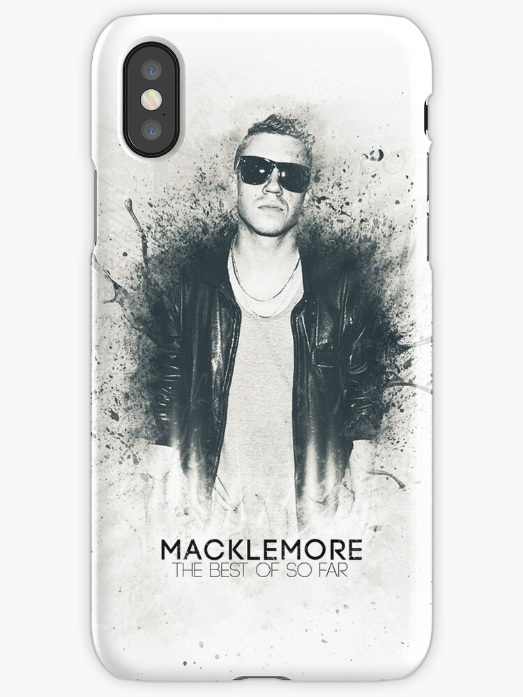 Macklemore Paint Splatter - Iphone Case by SeanKernerman