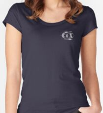 Cox Oar Pocket size Women's Fitted Scoop T-Shirt