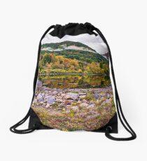 Housatonic River Connecticut Drawstring Bag