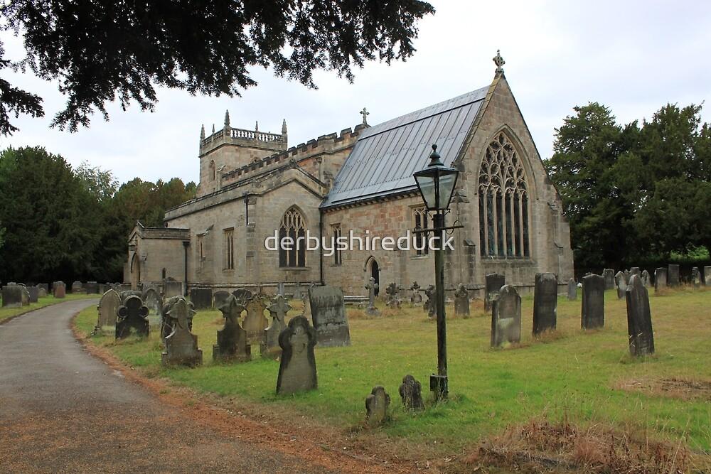 All Saints Church at Sudbury  by derbyshireduck
