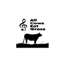 Music Mnemonic - All Cows Eat Grass by funkyworm