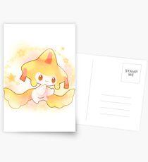 Pokémon Jirachi Postcards
