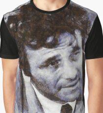 Peter Falk as Columbo Graphic T-Shirt