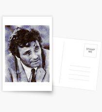 Peter Falk als Columbo Postkarten