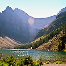 Lake Agnes II by Robin Webster