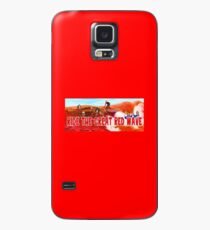 Ride The Great Red Wave Case/Skin for Samsung Galaxy