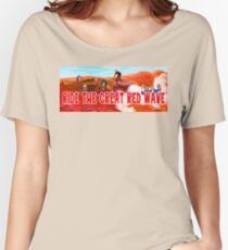 Ride The Great Red Wave Women's Relaxed Fit T-Shirt