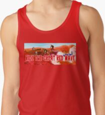 Ride The Great Red Wave Tank Top
